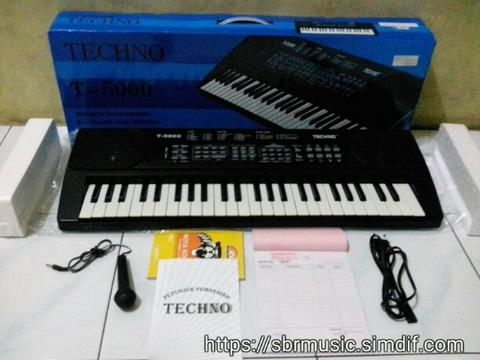 KEYBOARD TECHNO T-5000