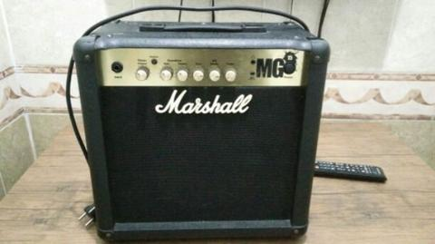 Marshall MG15 15-watt Guitar Combo