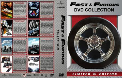 fast and furios 8 dvd movie collection boxset