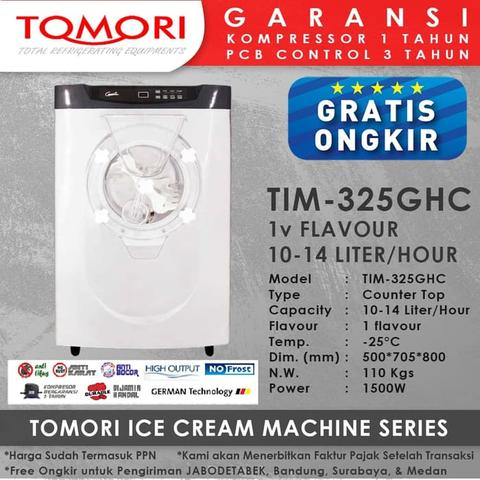 Tomori Mesin Hard Es Krim TIM-325GHC