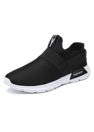 Ultralight sports breathable casual shoes large size men's shoes