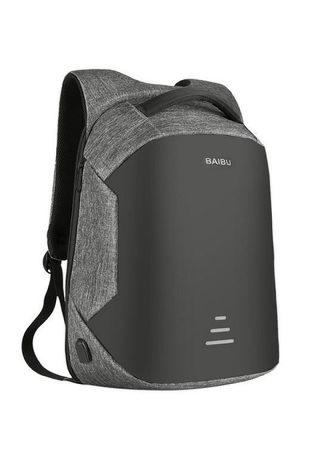 15.6 Laptop Backpack Anti Theft Backpack With Usb Charging Men School Bag
