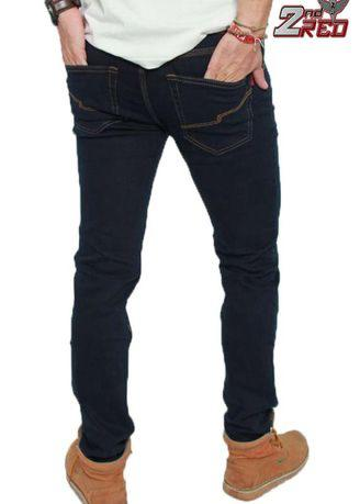 2Nd RED Celana Jeans Slim Fit Biru Hitam 133205