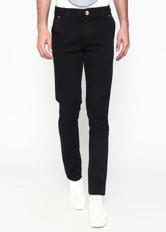 2Nd Red Slim Fit Chino Pants Black 115512