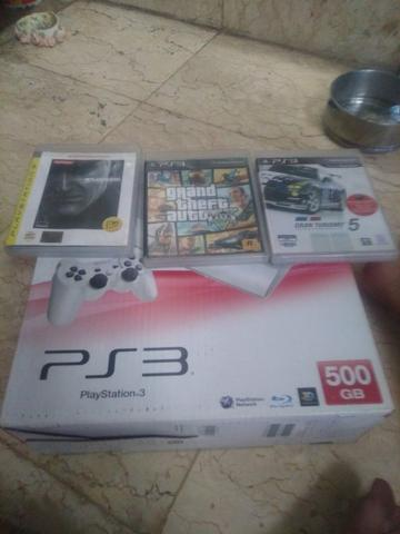 Ps 3 super slim 500gb white