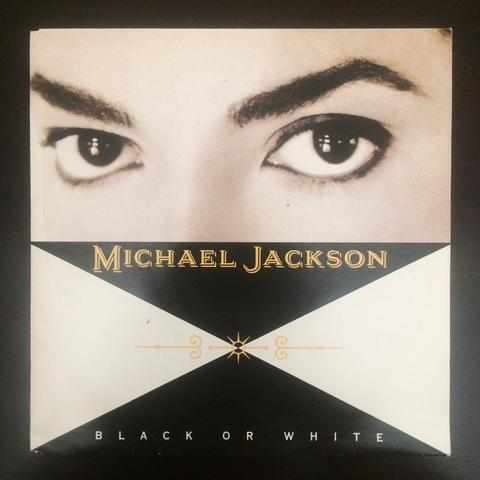 Piringan Hitam 7inch Michael Jackson - Black or White