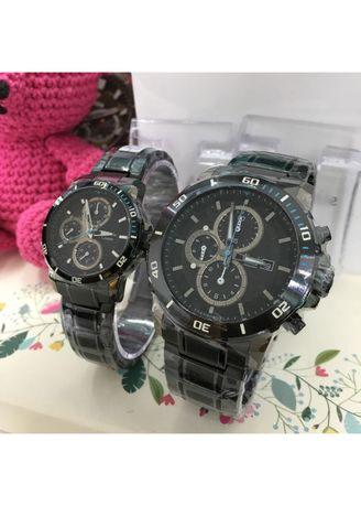 Alexandre Christie - AC 6473 Couple - Jam Tangan Couple - Stainless Steel