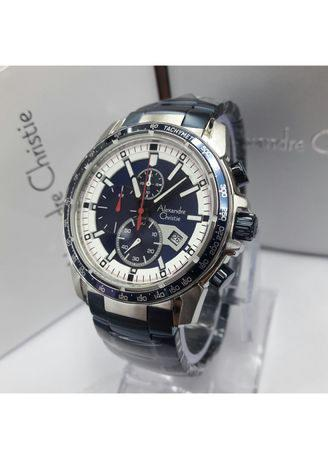 Alexnadre Christie - Jam Tangan Casual Pria - Stainless Steel - AC 6480