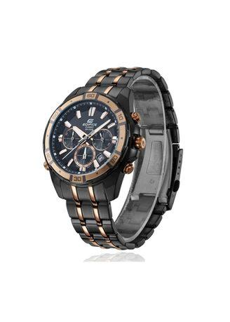 CASIO Edifice Original EFR-534BKG-1AVDF Chronograph