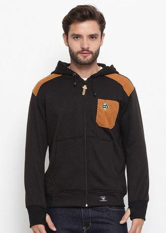 CBR SIX Narayana Men Sweater Hitam