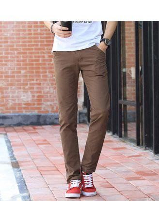 Chino Pants Cotton Casual Men Trousers