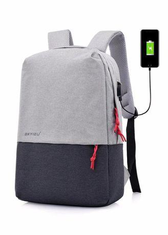 Fashion Smart USB Interface Men's And Women's Common Leisure Bag