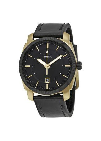 FOSSIL - Machine Two Tone Black Leather FS5263
