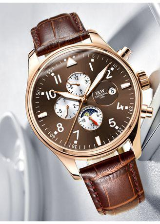 Full automatic mechanical gentleman's chronographs watch.