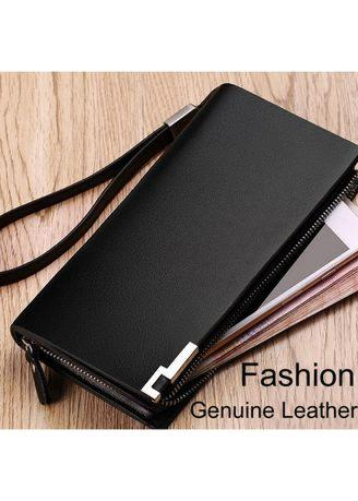 Genuine Leather Men's Wallet Fashion Luxury Designs Excellent Workmanship