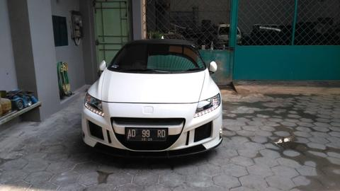 HONDA CRZ WHITE ON BLACK 2015