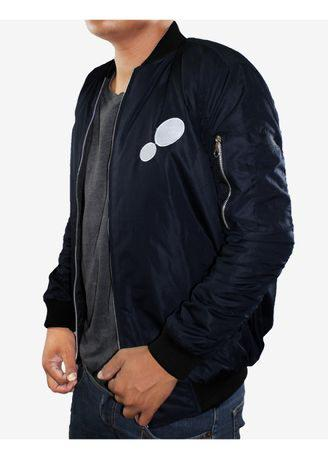 Jaket Bomber Unisex Dane and Dine Navy