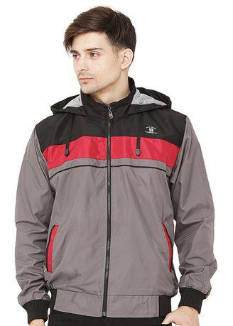 JAVA SEVEN Isoton Man Jacket Grey Multi