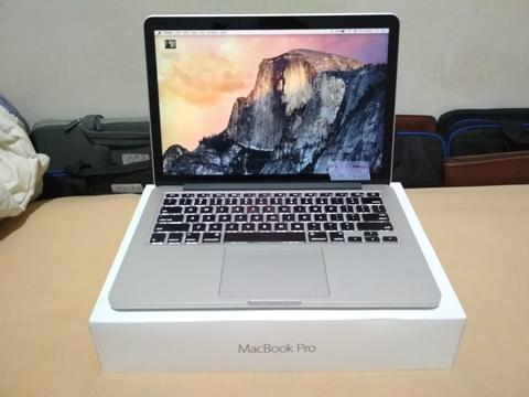 MacBook Pro 13 Retina Display | MF840 | 256 GB | 2015 Fullset