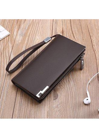 Men Fashion Wallet Genuine Leather Multifunctions