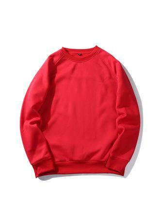 Men's 8 - Solid Color Sweatshirts With European and American Style