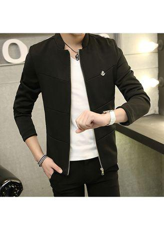 Men's Jackets Solid Coat