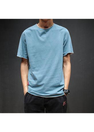 Men's Slim Fit Short Sleeve Shirt Cotton Casual Stylish T-Shirt Tops