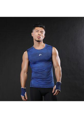 Men's Tight Breathable Vest Compression Fitness Tank Tops