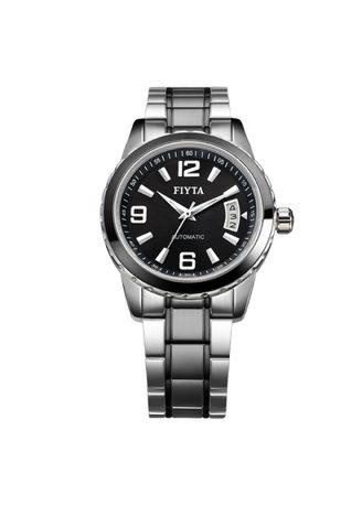 Moment Watch Jam Tangan Pria Fyta GA8122.CBC - Stainlles Steel