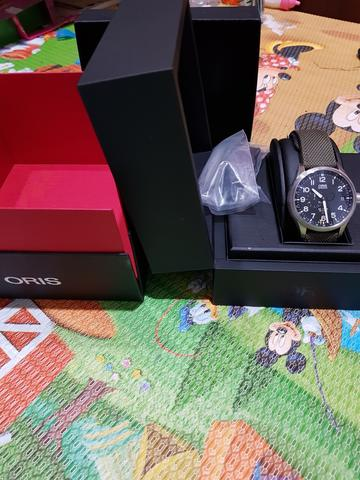 ORIS BIG CROWN PROPILOT GMT SMALL SECOND AUTOMATIC 45MM