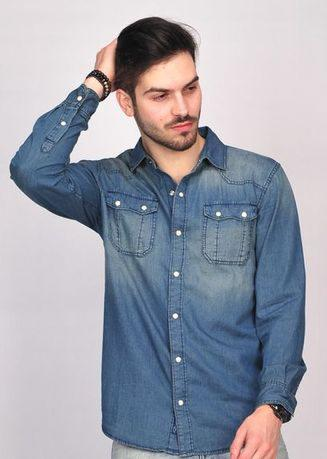 SIMPAPLY Ghenore Light Blue Men's Shirt