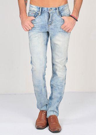 SIMPAPLY's Centrin Acid Wash Men's Jeans