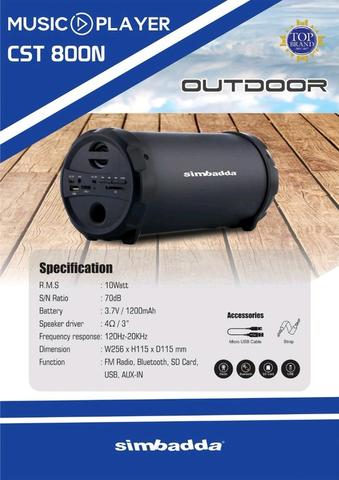 speakersimbadda cst800n