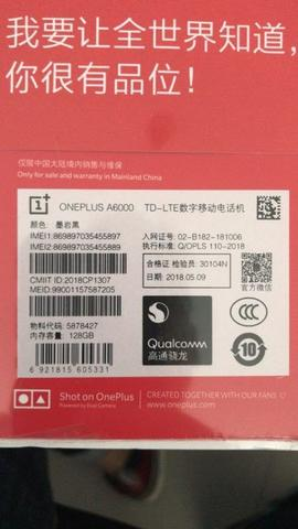 Oneplus 6 8/128 BNIB sealed.