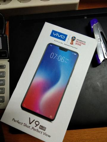 Vivo V9 ram 6gb Black Second Belum Seminggu