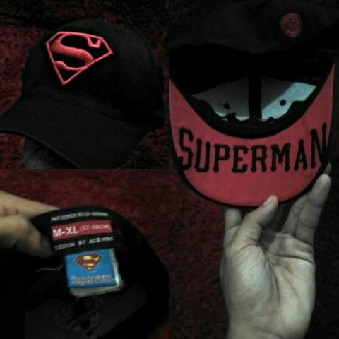 topi builtup superman (wb)