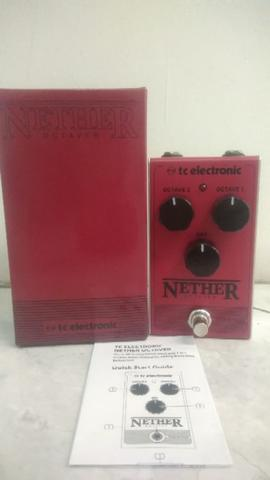 TC Electronic Nether Analog Octave Octaver Pedal