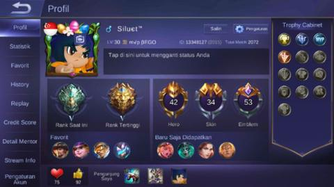 Promo!! akun mobile legends murahhh!!!