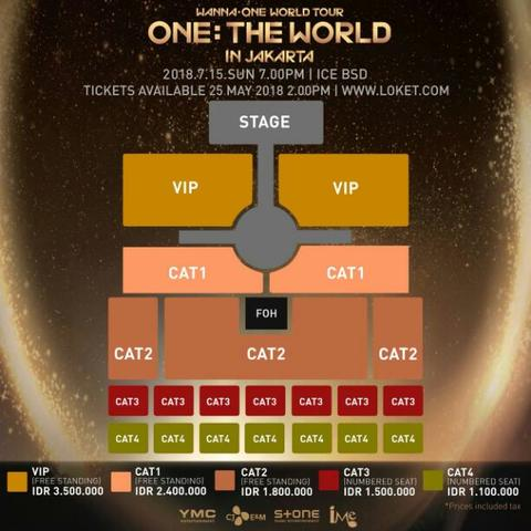 #JUAL TIKET WANNA ONE