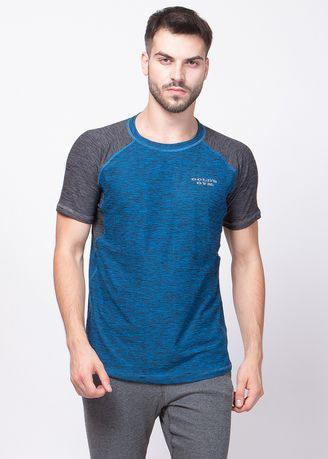 Tshirt Active Man Blue-Black