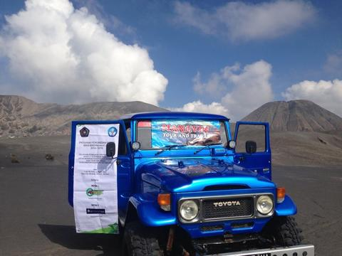Paket Open trip wisata bromo midnight sunrise murah meriah full destinasi