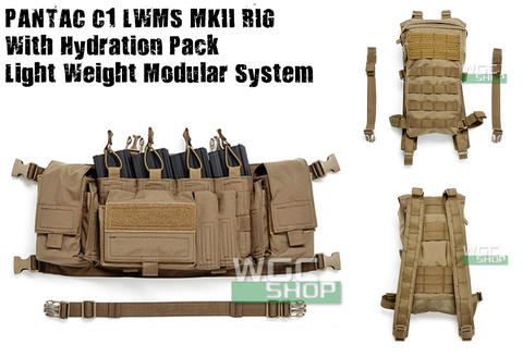 Pantac C1 LWMS MKII RIG with Hydration Pack (Cordura / CB)