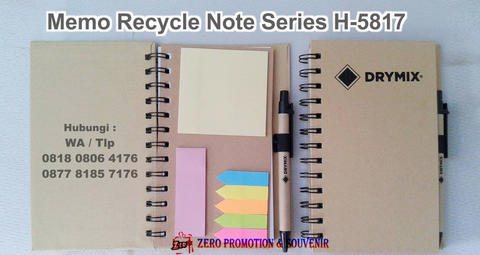 Souvenir Memo Recycle Note Series H-5817