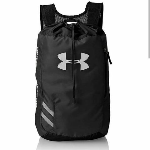 719521e7f6 Tas Gym Fitness Travelling Under Armour Trance Sackpack Black Travelling  Sport Bag