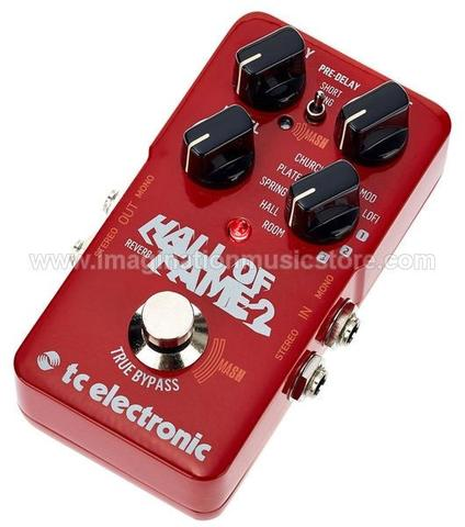 [IMAGINATION MUSIC STORE] TC Electronic Hall of Fame 2 Reverb Pedal