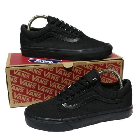 38a2b704760f46 Terjual Vans Old Skool Triple Black Unisex Perfect Kick BNIB (Free ...