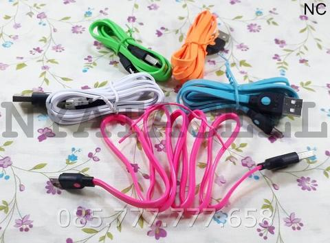 Kabel Data Hippo Caby Micro USB Blackberry Samsung LG Sony Xiaomi Asus
