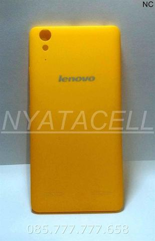 Back Door Lenovo A6000 Kuning Backdoor/Tutup/Casing Belakang/Case - Putih