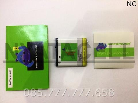 Baterai Hippo Blackberry E-M 1600mAh Double Power Batre EM1 Appolo