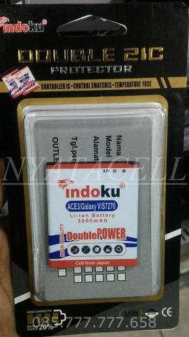 Baterai Indoku Samsung Galaxy Ace 4 3000mAh /Batre/Double Power